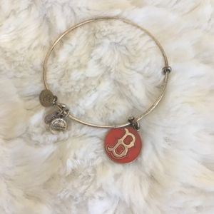 alex and ani / boston red sox adjustable bracelet